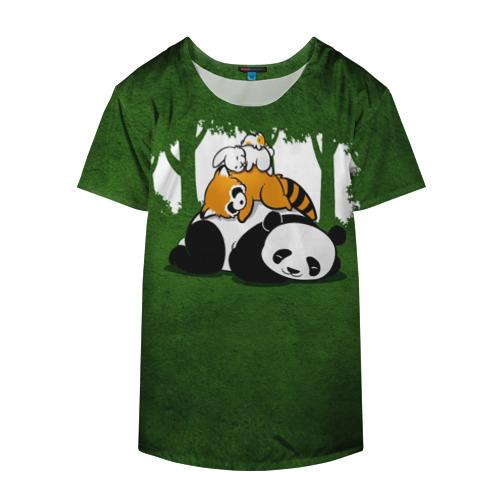 Накидка на куртку 3D  Фото 04, Милая панда