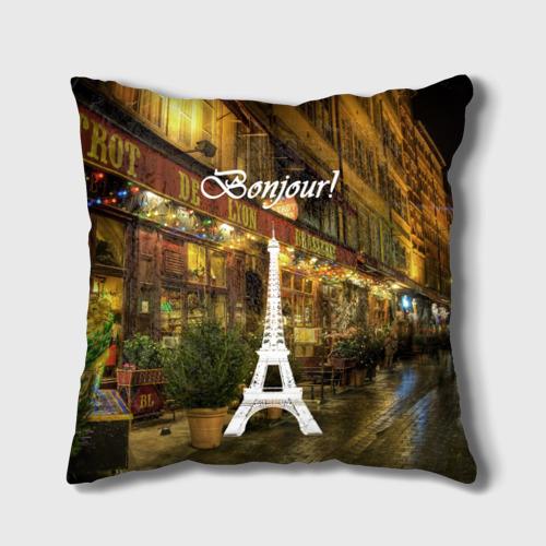 Подушка 3D  Фото 01, Bonjour
