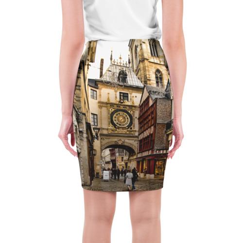 Юбка 3D  Фото 02, Улицы Парижа