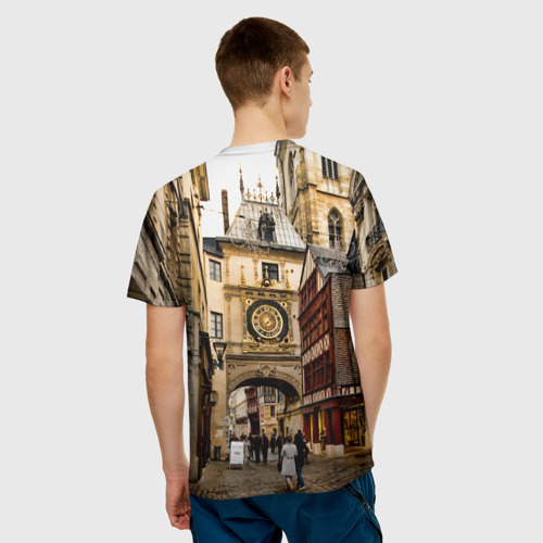 Мужская футболка 3D  Фото 02, Улицы Парижа