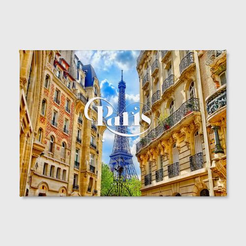 Холст прямоугольный  Фото 02, Париж, Эйфелева башня