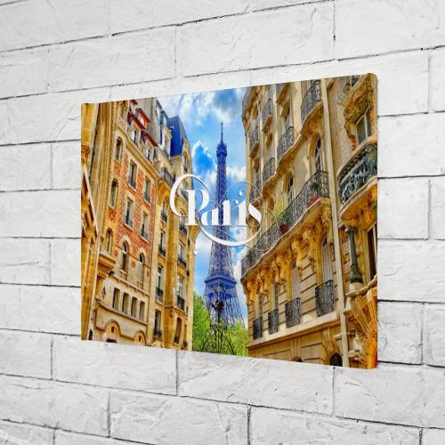 Холст прямоугольный  Фото 03, Париж, Эйфелева башня