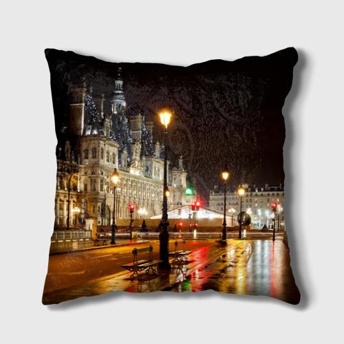 Подушка 3D  Фото 02, Улицы Парижа