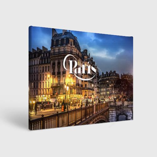 Холст прямоугольный  Фото 01, Улицы Парижа