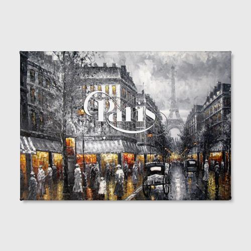 Холст прямоугольный  Фото 02, Улицы Парижа