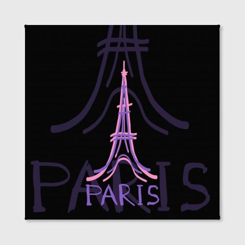 Холст квадратный  Фото 02, Париж