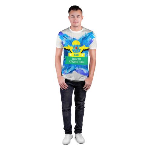 Мужская футболка 3D спортивная ВДВ Фото 01