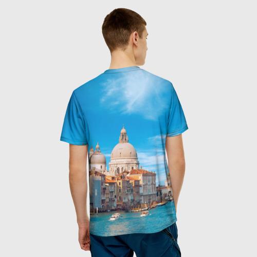 Мужская футболка 3D  Фото 02, Венеция