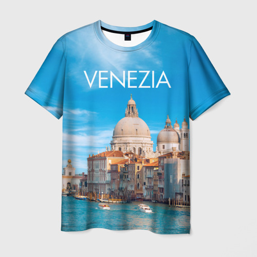 Мужская футболка 3D  Фото 01, Венеция