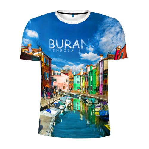 Мужская футболка 3D спортивная  Фото 01, Бурано