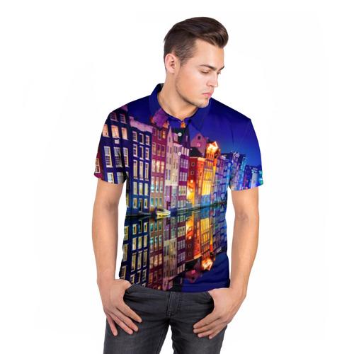 Мужская рубашка поло 3D  Фото 05, Амстердама, Нидерланды