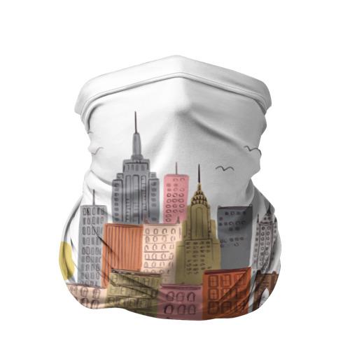 Бандана-труба 3D  Фото 01, Нью-Йорк
