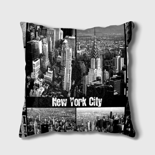 Подушка 3D  Фото 02, Улицы Нью-Йорка