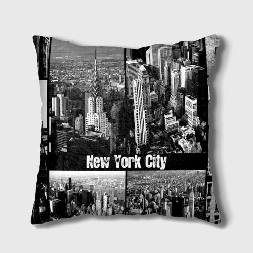 Подушка 3D  Фото 01, Улицы Нью-Йорка