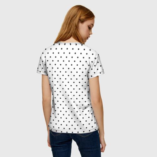 Женская футболка 3D Black Lips Фото 01