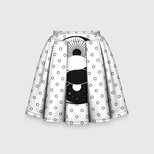 Детская юбка-солнце 3D  Фото 01, От заката до рассвета