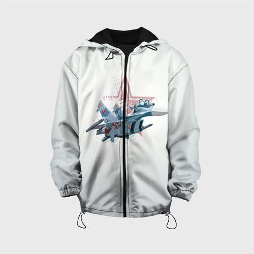 Детская куртка 3D Су-27