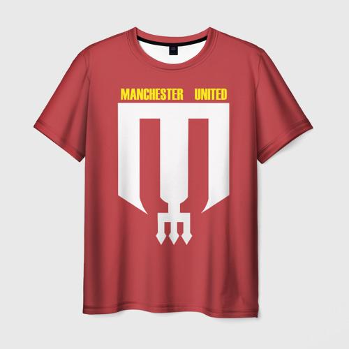 Мужская футболка 3D Manchester Unt