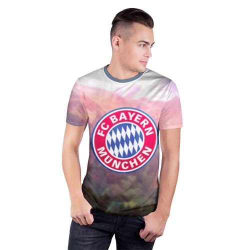 Мужская футболка 3D спортивная Бавария Фото 01