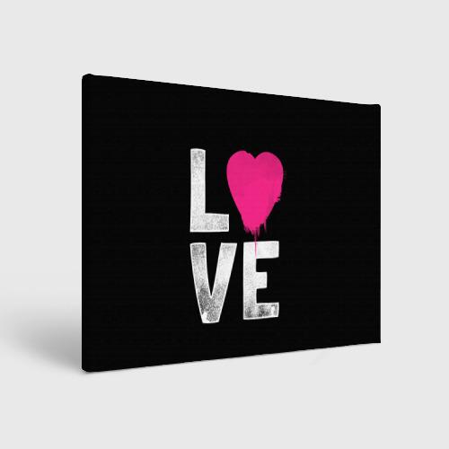 Холст прямоугольный  Фото 01, Love