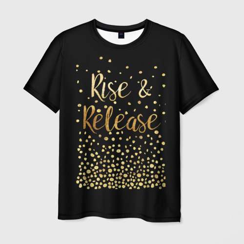 Мужская футболка 3D Rise & Release