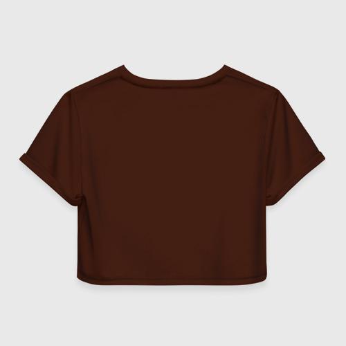 Женская футболка 3D укороченная  Фото 02, Москва для москвичей
