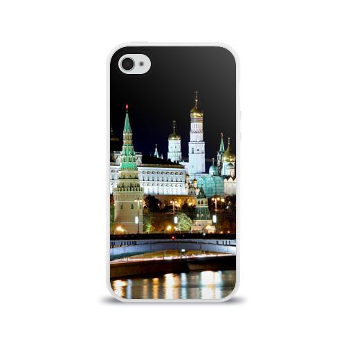 Чехол для Apple iPhone 4/4S силиконовый глянцевый  Фото 01, Москва