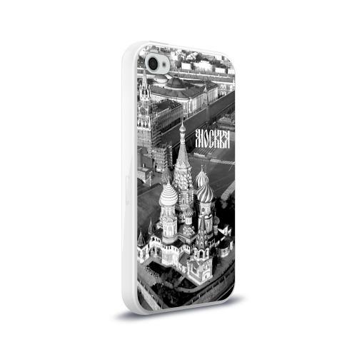 Чехол для Apple iPhone 4/4S силиконовый глянцевый  Фото 02, Москва