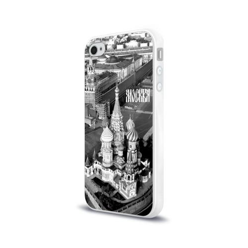 Чехол для Apple iPhone 4/4S силиконовый глянцевый  Фото 03, Москва