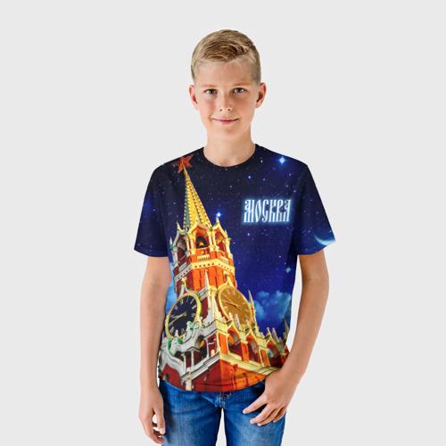 Детская футболка 3D Москва