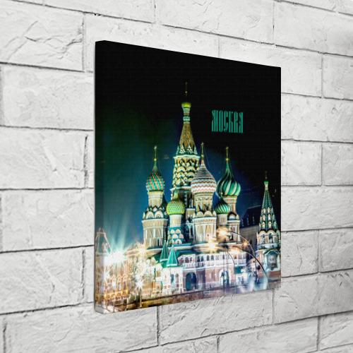 Холст квадратный  Фото 03, Москва