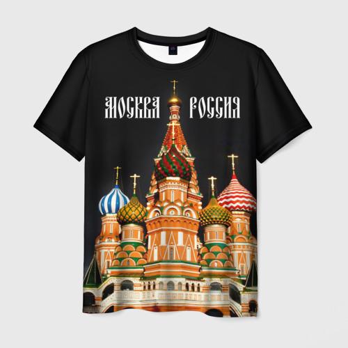 Мужская футболка 3D  Фото 01, Москва