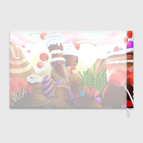 Флаг 3D  Фото 02, Candy Town