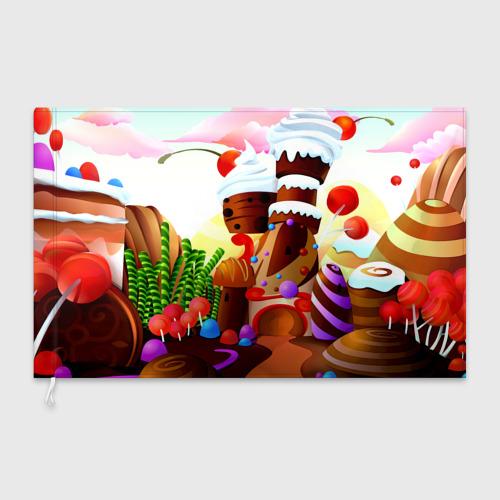Флаг 3D  Фото 03, Candy Town