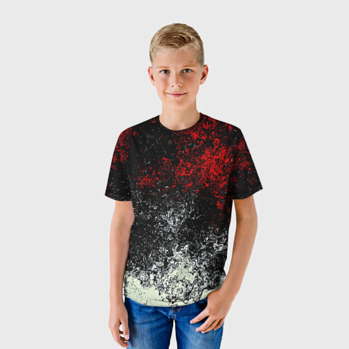 Детская футболка 3D Взрыв красок