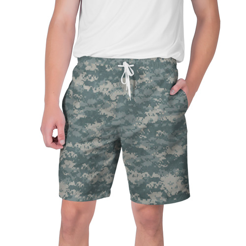 Мужские шорты 3D Камуфляж пиксельный