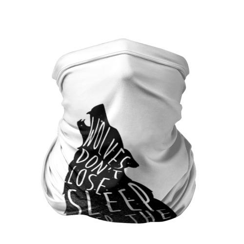 Бандана-труба 3D  Фото 01, Wolves Dont Lose Sleep