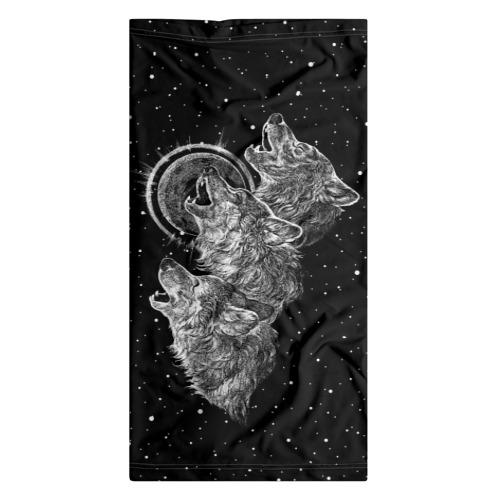 Бандана-труба 3D  Фото 07, Волчий вой
