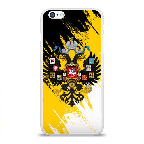 Чехол для Apple iPhone 6Plus/6SPlus силиконовый глянцевый  Фото 01, Имперский флаг и герб