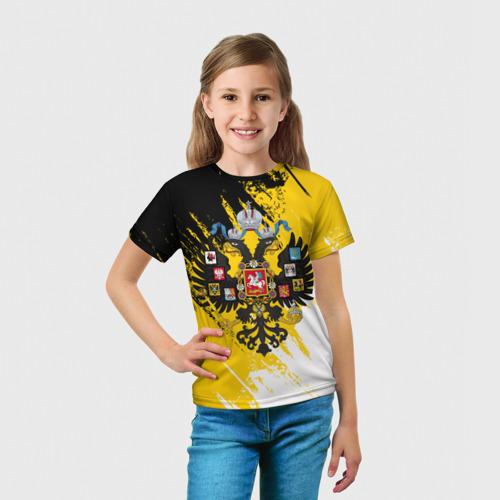 Детская футболка 3D  Фото 03, Имперский флаг и герб