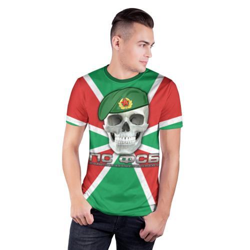 Мужская футболка 3D спортивная ПС ФСБ Фото 01
