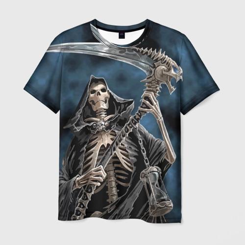 Мужская футболка 3D  Фото 01, Скелетон