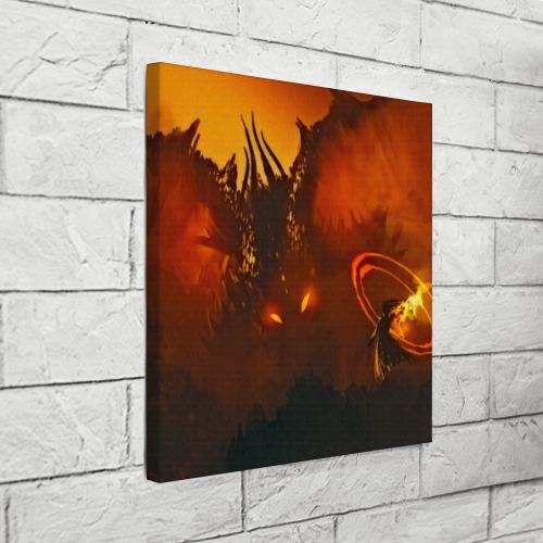 Холст квадратный  Фото 03, Dragon