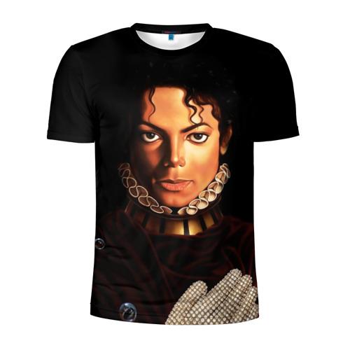 Мужская футболка 3D спортивная  Фото 01, Король Майкл Джексон
