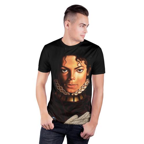 Мужская футболка 3D спортивная  Фото 03, Король Майкл Джексон