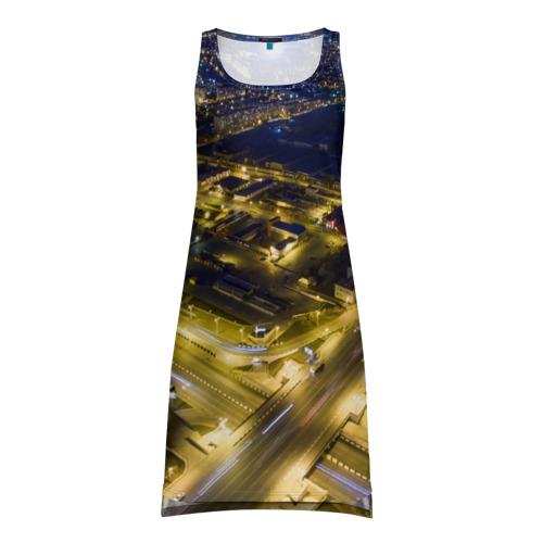 Платье-майка 3D Ночной Челябинск