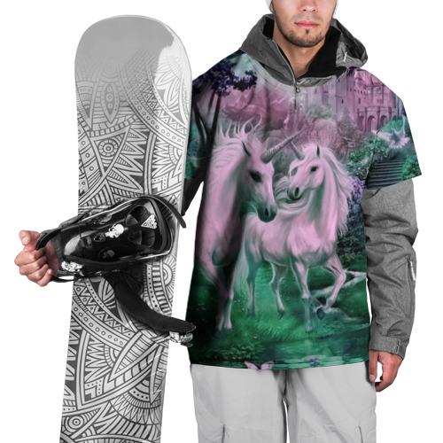 Накидка на куртку 3D Единорог XL