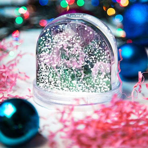 Водяной шар со снегом  Фото 04, Единорог