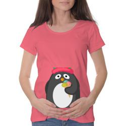 Пингвин с мороженым
