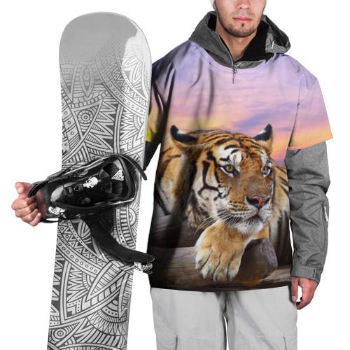 Накидка на куртку 3D Тигр